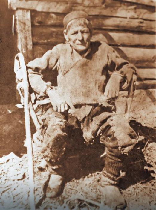Микаш Караджич в старости
